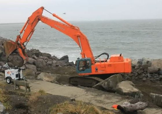 The U.S. Army Corps of Engineers, Seattle District, has scheduled to begin work Nov. 11 to repair and restore a 300-foot reach of the Point Chehalis revetment, including a 60-foot reach that could fail during a severe storm.