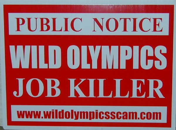Cosmopolis to Draft Resolution Against Wild Olympics Proposal