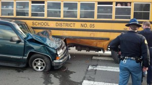 Aberdeen school bus involved in traffic accident