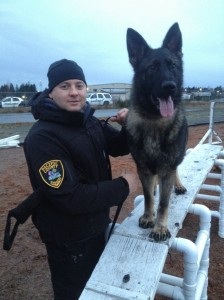 Pacific County Sheriff's Office introduces K-9 Ciko, handler Deputy Justin Kangas