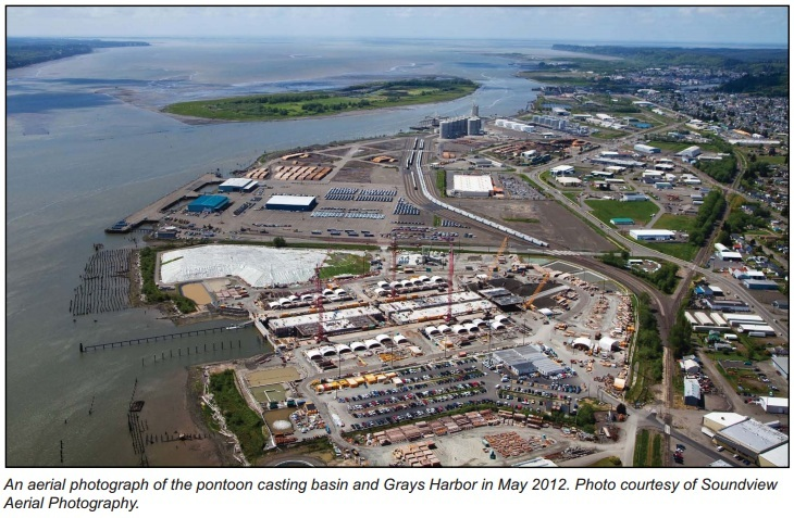 Aberdeen Casting Basin - Port of Grays Harbor - 2013