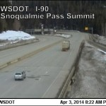Snoqualmie Pass on I-90