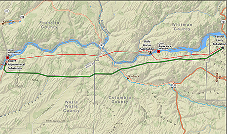 Central Ferry-Lower Monumental Transmission Line Project