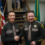 New Lt Adams & Sheriff Salisbury