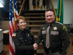 Mason County Sheriff promotes 2 Lieutenants & swears in new Reserve Deputy