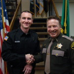 New Res Dep Marcheen & Sheriff Salisbury