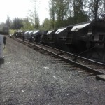 Train derailment near Aberdeen, WA
