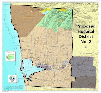 County Commissioners shape proposed Public Hospital District #2, heads for August ballot