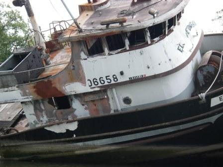 Washington DNR derelict vessel removal program