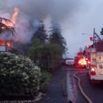 Aberdeen house fire on Arnold Hill