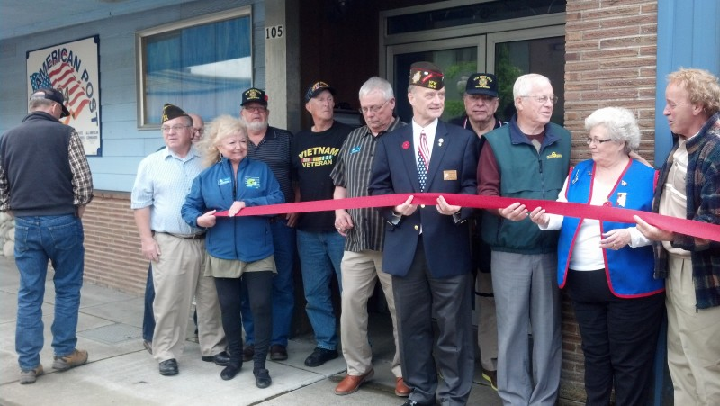 Veterans Day Ceremony and Fundraiser at Aberdeen VFW