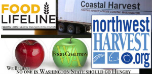 Northwest Harvest, Food Lifeline, and the Washington Food Coalition