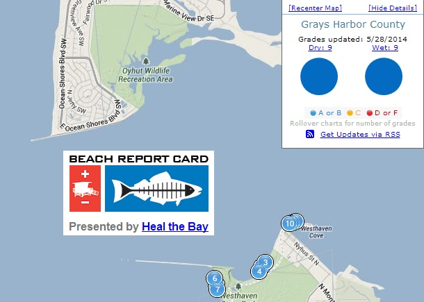 Heal The Bay Report Scores Washington High In Ocean Water Quality Newstalk Kbkw San francisco bay area maps. kbkw