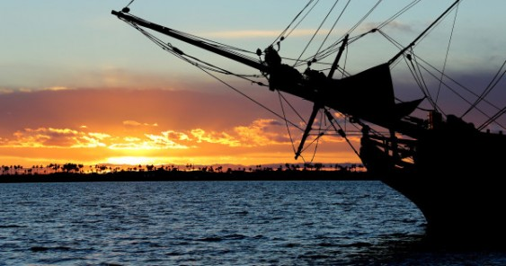 Grays Harbor tall ships Lady Washington and Hawaiian Chieftain return to port in September