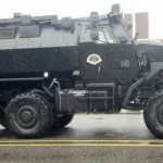 Aberdeen Police Armored Car