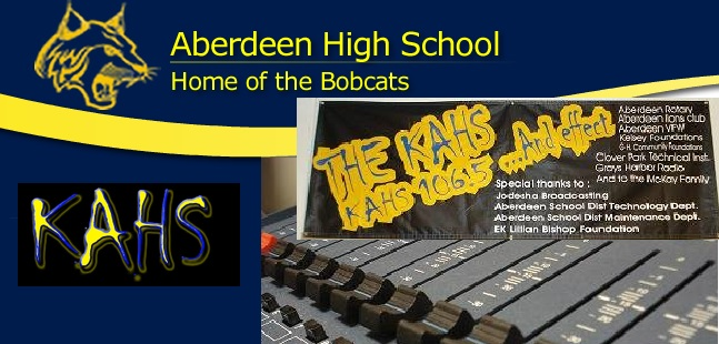 KAHS Aberdeen High School LP Radio