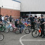 Hoquiam Police Department Bike Rodeo at Central Elementary School