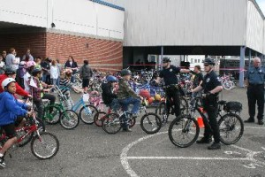 Hoquiam Bike Rodeo teaches bike safety at Central Elementary