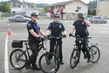 """On Wednesday June 15, 2011, the Hoquiam Police Department, in conjunction with Central Elementary School, hosted a """"Bike Rodeo"""" during school hours on campus."""