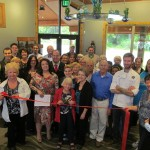 Ocean Crest Restaurant ribbon cutting