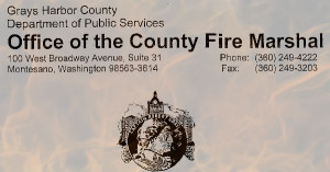 Outdoor Burning Restricted in Grays Harbor County