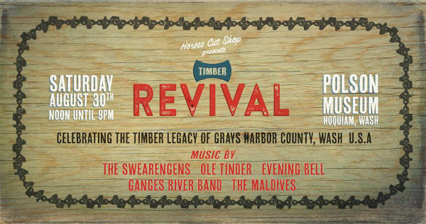Northwest Timber Revival in Hoquiam to benefit Associates program at Grays Harbor College