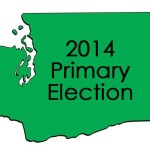 2014 Primary Election Map Washington