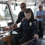 Dylan was a natural and drove the tug like a pro!