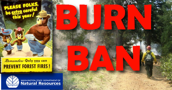 Effective August 2, DNR Bans Outdoor Burning Statewide