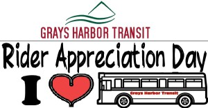 "Grays Harbor Transit hosts ""Rider Appreciation Day"" August 13th"