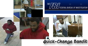 FBI seeks information on bank robber nicknamed the 'Quick-Change Bandit'