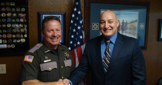 Mason County Sheriff swears in new Jail Officer