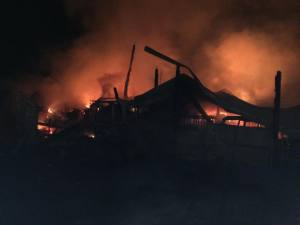 Elma barn fire