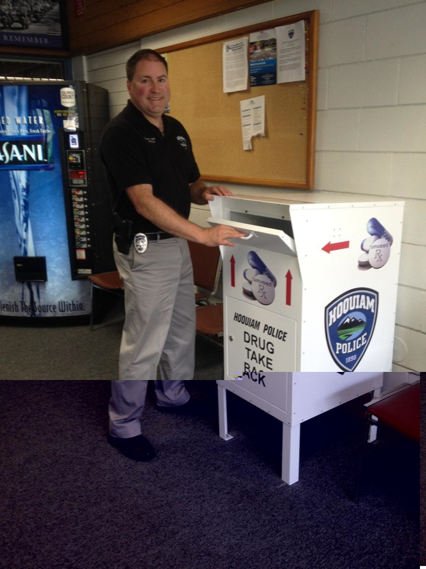 Drug Takeback Day everyday at the Hoquiam Police Department