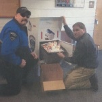 Hoquiam Police Department Drop Box Emptied