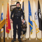 "Mason County K-9 ""Solo"" and handler Deputy Justin Cotte"
