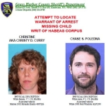 Be on the lookout for Christine Curry and Chase Poledna