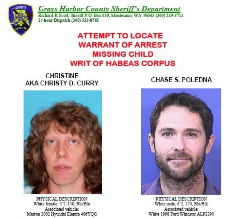 Grays Harbor County Sheriff's Office searching for parents