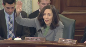 Cantwell speaks on CBR