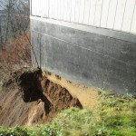 Hoquiam landslide damage