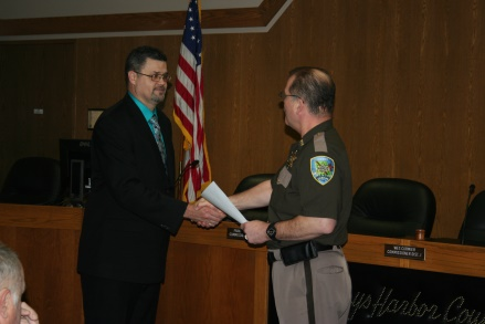 Promotions at the Grays Harbor County Sheriff's Office • Newstalk KBKW