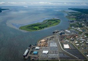 Sen. Murray, Army Corps, and Port of Grays Harbor gather to celebrate Grays Harbor Channel Deepening Project