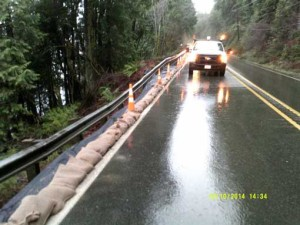 Crews start long-awaited permanent fix on US 101 at Rock Crusher Hill