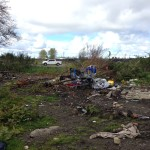 Advocates and campers working to cleanup site near downtown Aberdeen