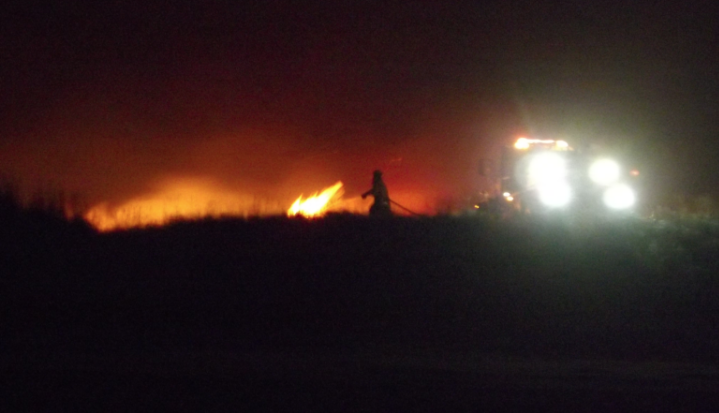 Campfire in the dunes of Ocean Shores turns into dune fire Friday night