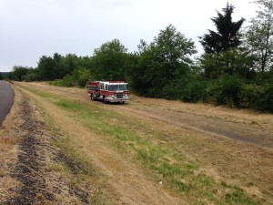 Aberdeen fire crews douse South Aberdeen brush fire, again