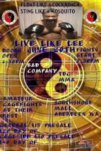 """Live Like Lee"" Saturday in Aberdeen, cage fight to benefit family of fallen fighter"