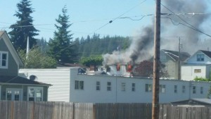 Montesano Family displaced after house fire Tuesday