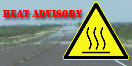 heat advisory in effect for portions of western washington