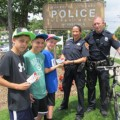 Aberdeen and Hoquiam Police 'ticket' good kids with free Slurpee® coupons